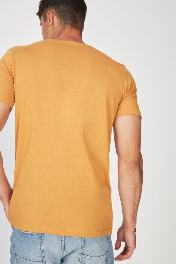 Essential Crew T-Shirt, BUCKSKIN GOLD