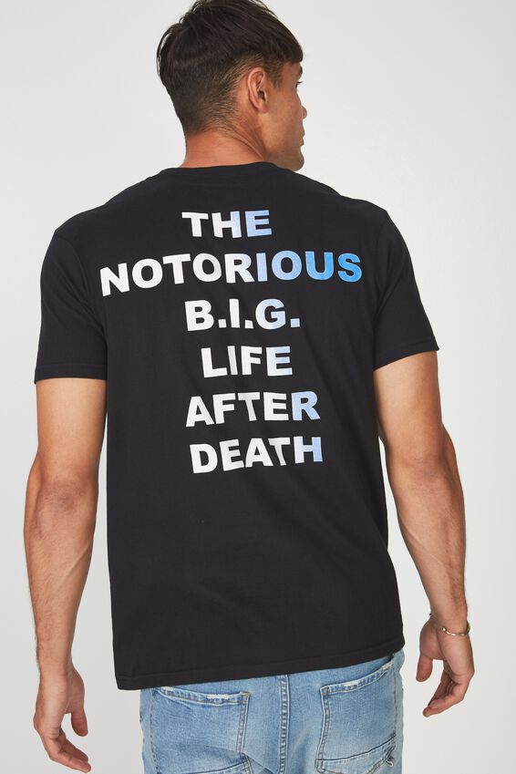 Tbar Collaboration Tee, LC BLACK/LIFE AFTER DEATH