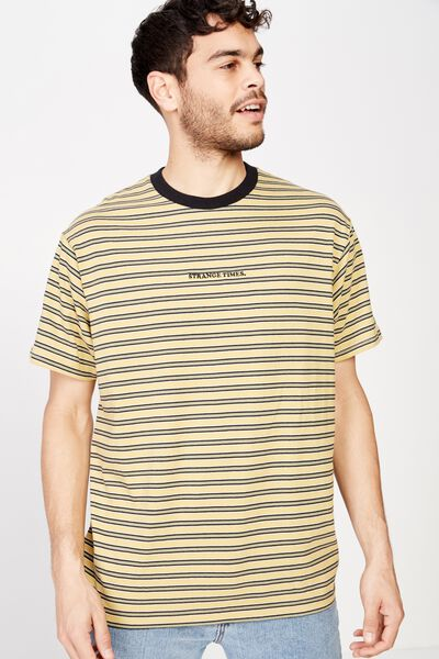 Dylan Tee, SAUTERNE YELLOW/WASHED BLACK/BUSH GREEN/PEARL