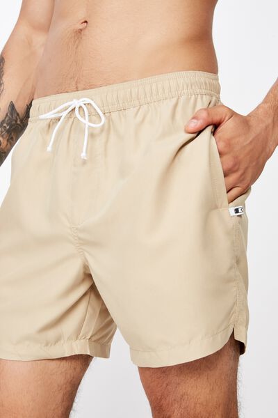 Swim Short, SOLID SAND