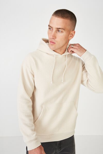 Drop Shoulder Pullover Fleece, PEARL TEDDY PULLOVER