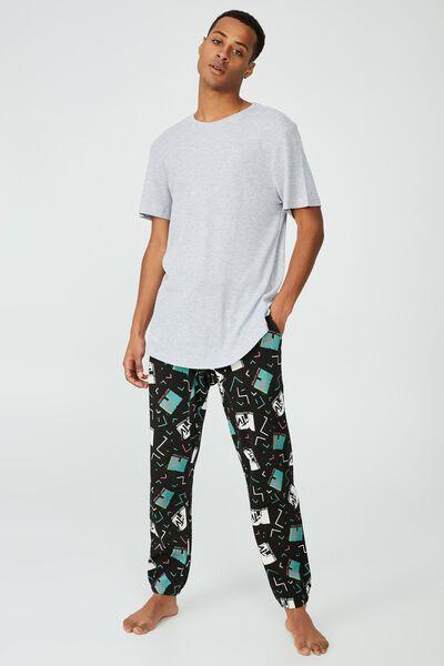 Lounge T-Shirt, LIGHT GREY MARLE