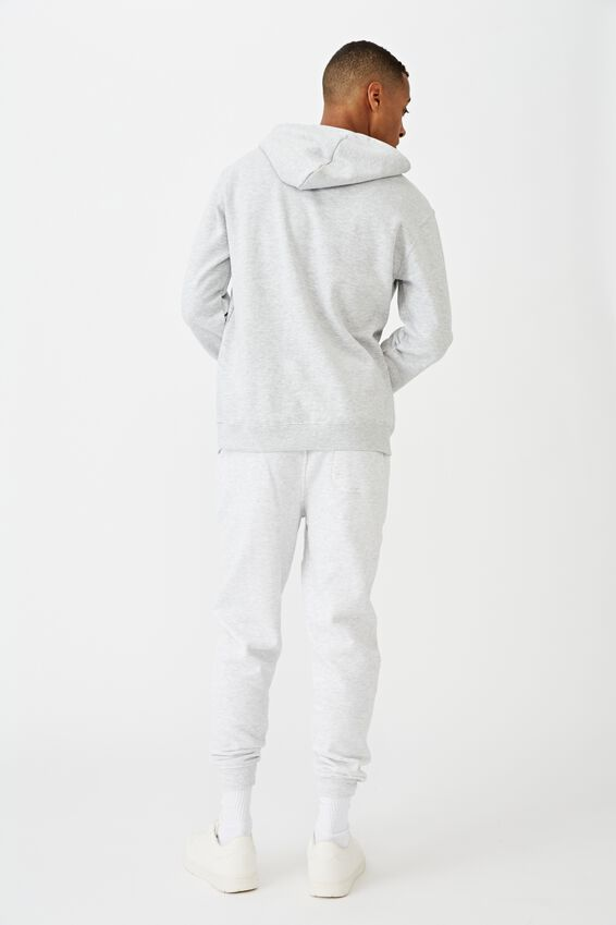 Fleece Pullover 2, LIGHT GREY MARLE/UNKNOWN PROJECTS