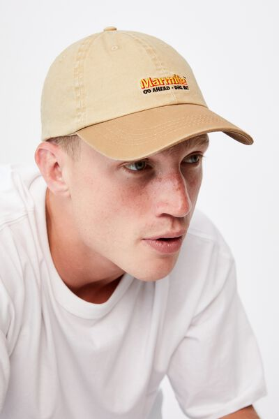 Special Edition Dad Hat, LCN MARMITE/WASHED CAMEL