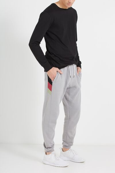 Customised Slouch Trackie, GUN POWDER GREY # 30