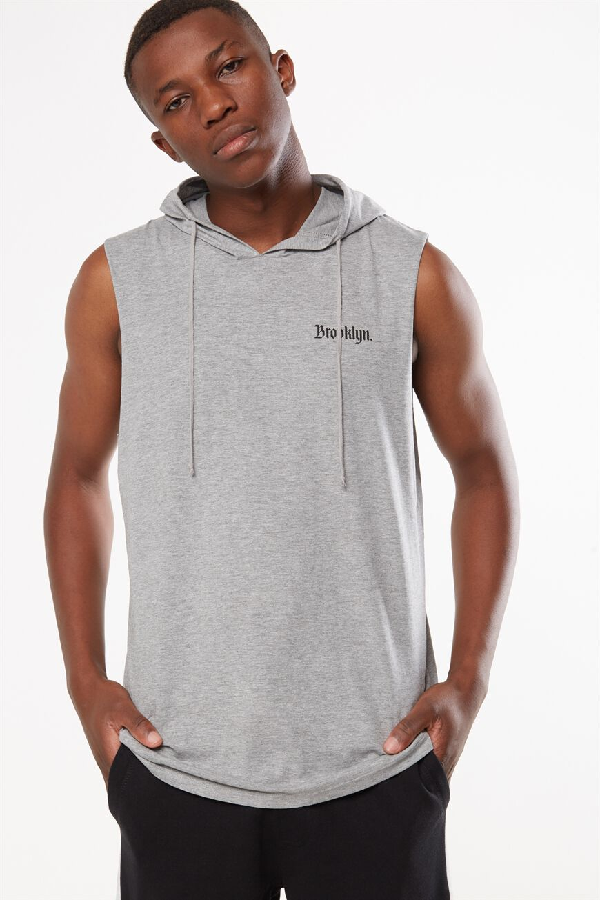 Cotton On Men. Tbar Tank. $19.95. 3 colours available. Hustle Muscle, GREY  MARLE/BROOKLYN