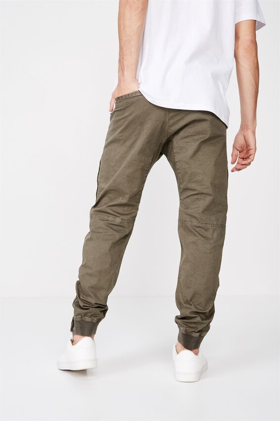 Urban Jogger, OLIVE RIPSTOP UTILITY