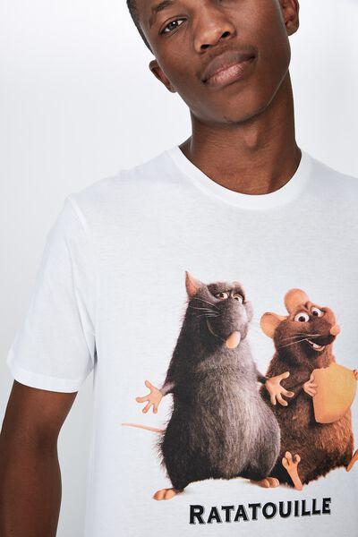 Tbar Collab Cny T-Shirt, LCN DIS WHITE/RATATOUILLE - CHEESE
