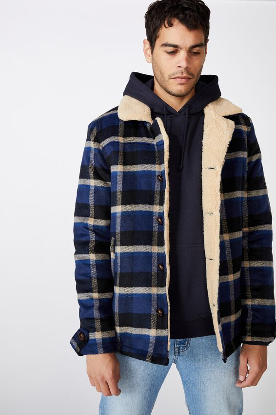 Ranch Jacket, WOODS CHECK