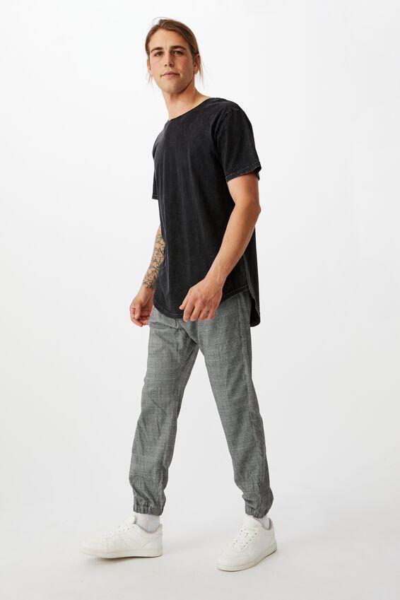 Drake Cuffed Pant, BLACK PRINCE OF WALES