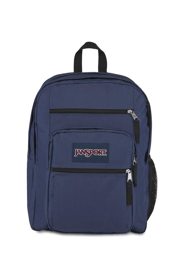 Jansport Big Student Backpack, NAVY