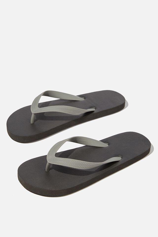 Bondi Flip Flop, BLACK/GREY