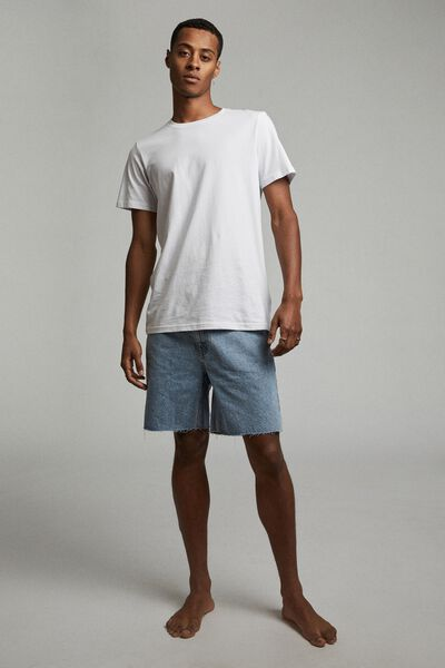 Rigid Straight Short, LENNOX BLUE