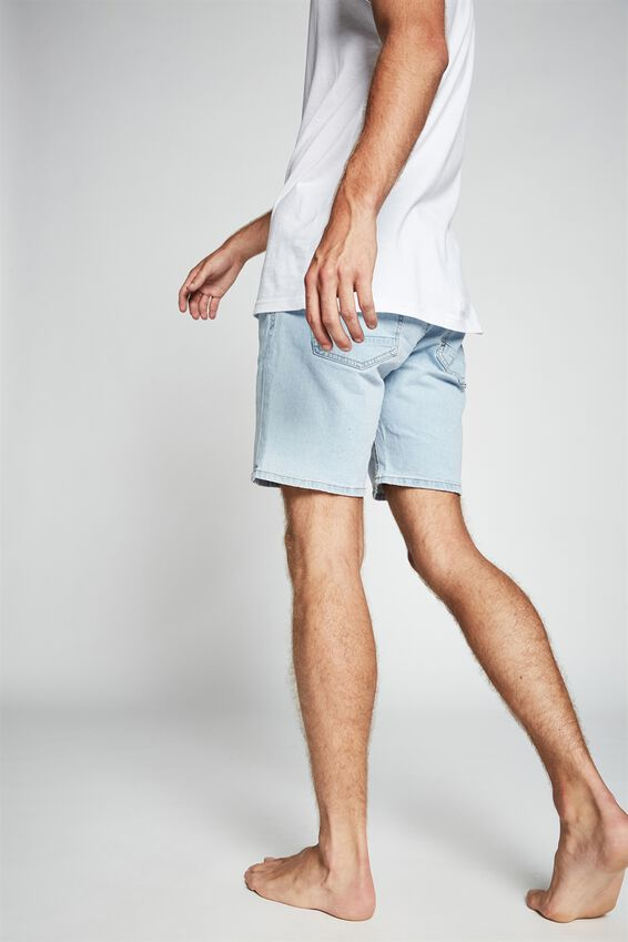 Straight Short, BONDI BLUE