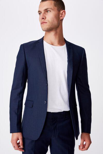 Slim Stretch Suit Jacket, NAVY
