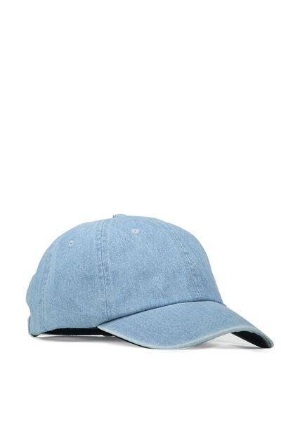 Strap Back Dad Hat, SEE ALL/DENIM