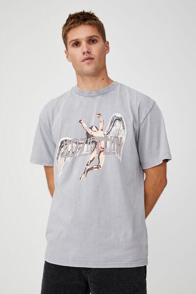Special Edition T-Shirt, LCN ARA BLUE HAZE/LED ZEPPELIN WINGS