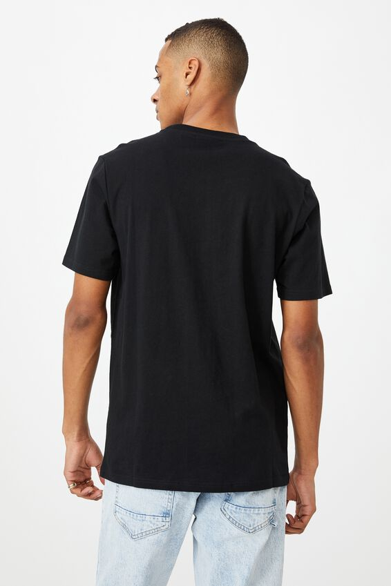 Tbar Collab Music T-Shirt, LCN PER BLACK/PINK FLOYD - WISH YOU WERE HERE