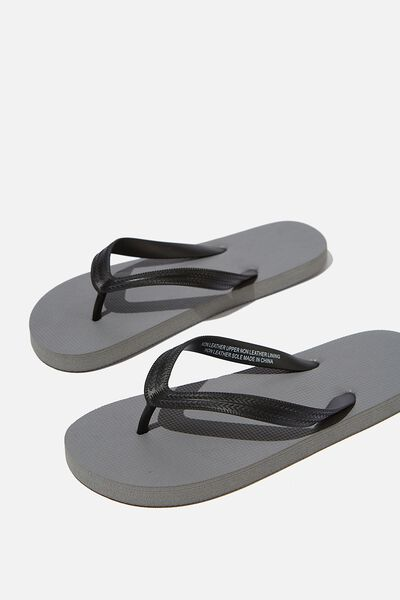 Bondi Flip Flop, GREY/BLACK