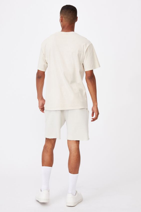 Washed Pocket T-Shirt, IVORY
