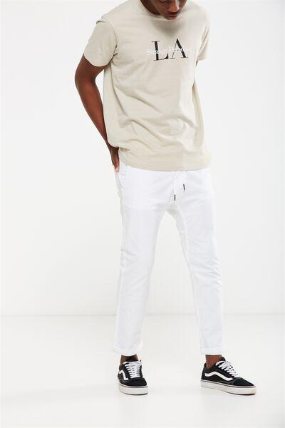 Drake Roller Pant, WHITE
