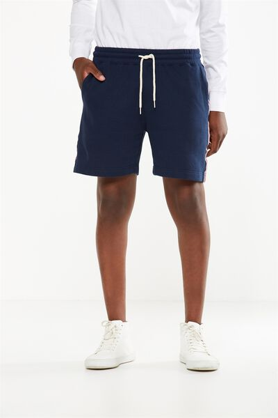 Volley Jogger Short, TRUE NAVY / SPORTS STRIPE