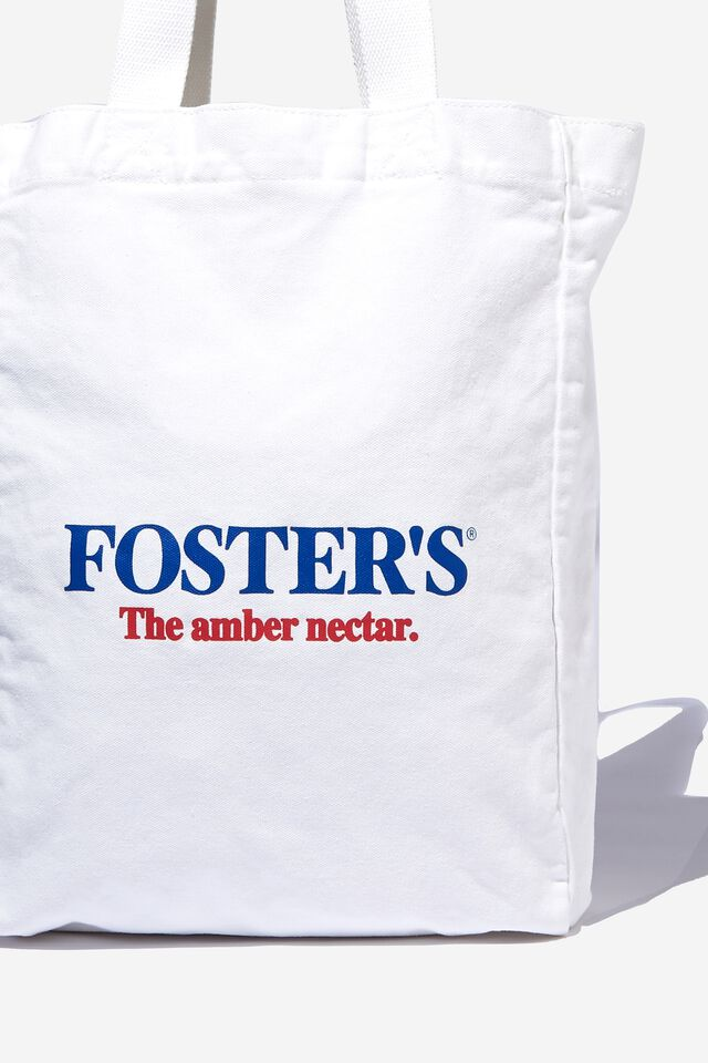 Fosters Shoulder Tote, LCN FOS VINTAGE WHITE/FOSTERS GDAY