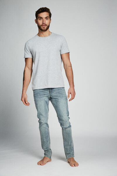 Slim Fit Jean, SHRAPNEL BLUE