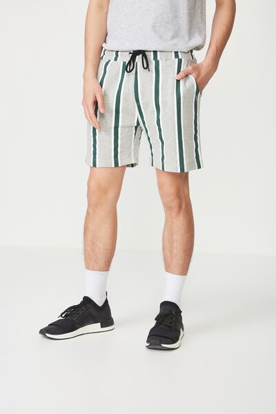 Volley Jogger Short, GREY MARLE/VERT GREEN
