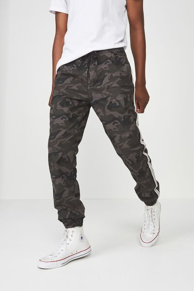 Drake Cuffed Pant, NIGHT CAMO SIDE STRIPE