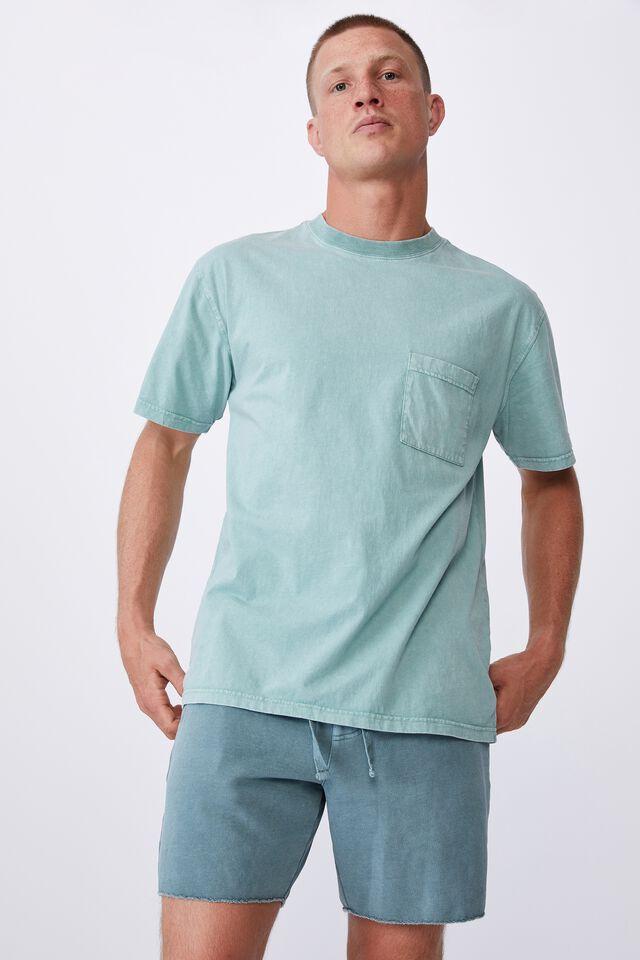 Pigment Fleece Short, PIGMENT MINERAL BLUE
