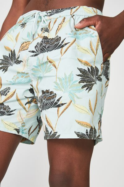 Hoff Short, ICE BLUE/FLORAL
