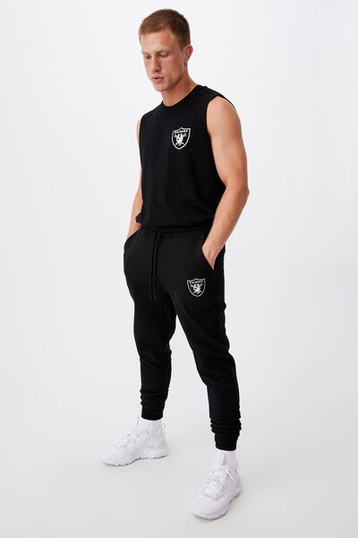 Active Nfl Trackpant, LCN NFL BLACK/RAIDERS