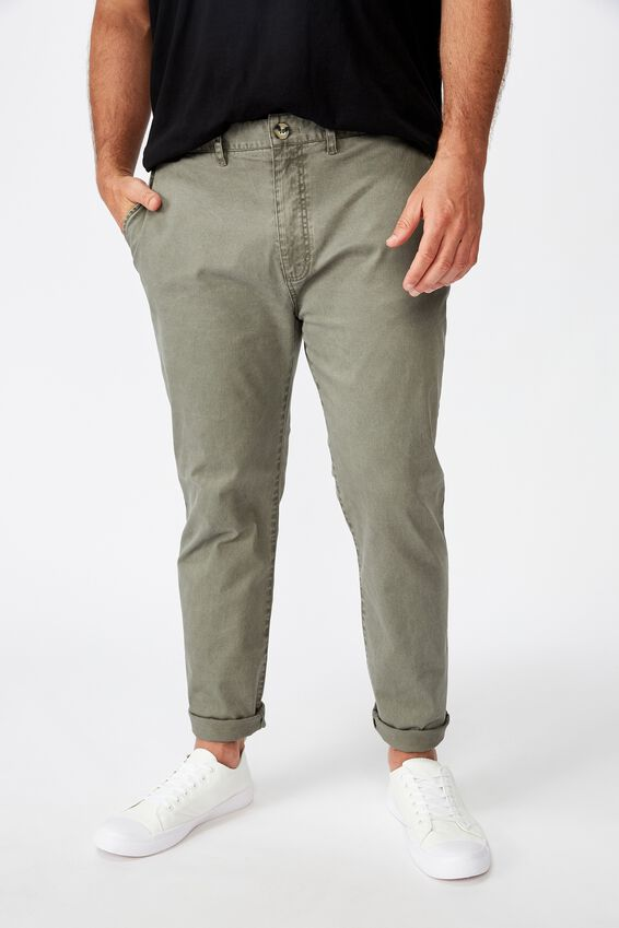 Skinny Stretch Chino, WASHED KHAKI