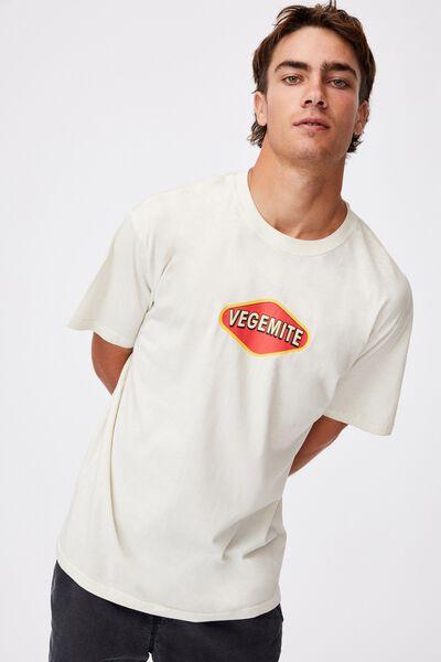Special Edition T-Shirt, LCN VEG BONE/VEGEMITE-CLASSIC LOGO