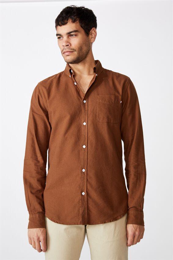 Brunswick Shirt 3, COFFEE