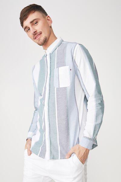 Brunswick Shirt 3, BAY STRIPE
