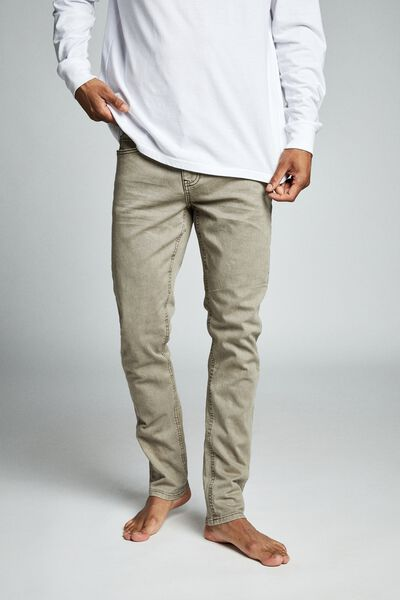 Slim Fit Jean, TAN