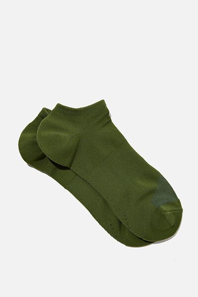 Performance Sneaker Sock, KHAKI
