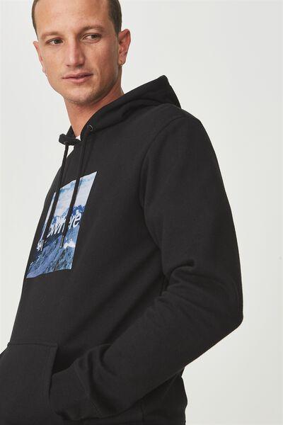 Fleece Pullover 2, BLACK/NOWHERE