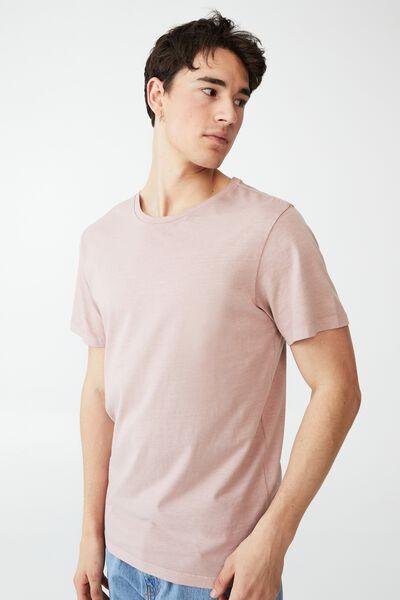 Organic Crew T-Shirt, PLUM
