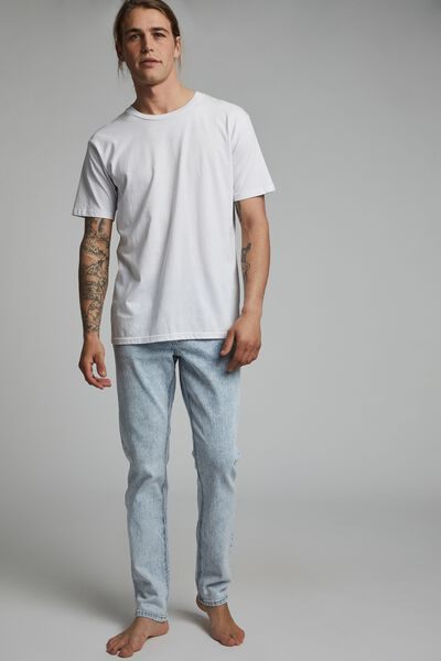 Slim Fit Jean, BURLEIGH BLUE
