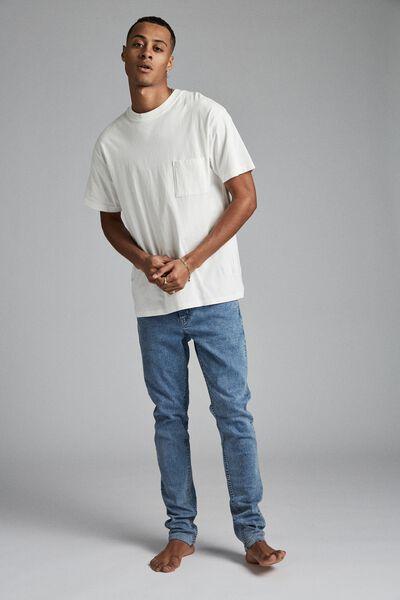 Super Skinny Jean, PALM BLUE