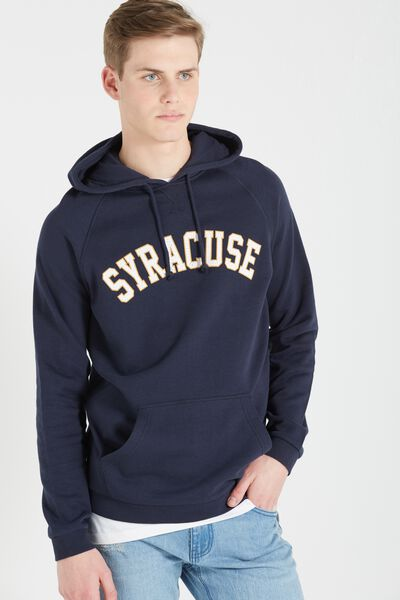 Fleece Pullover 2, TRUE NAVY/SYRACUSE
