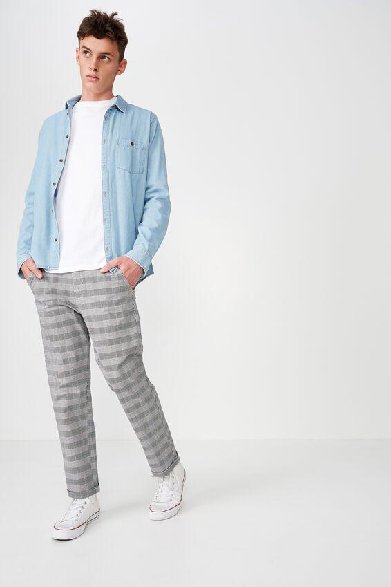 Drake Roller Pant, SPICE HERINGBONE