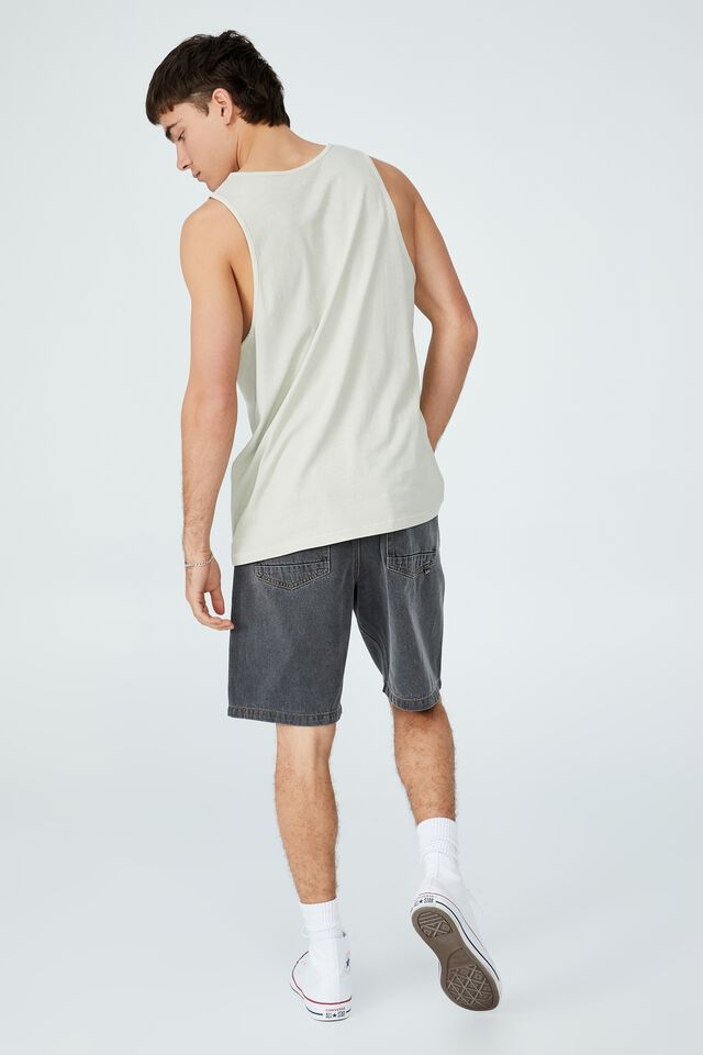 Vacation Tank, IVORY WASHED