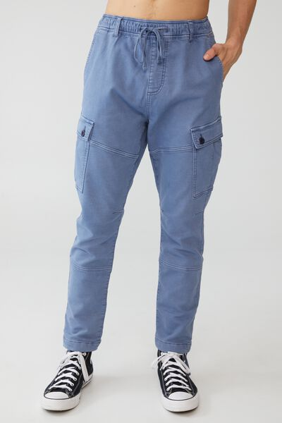 Military Cargo Pant, MID BLUE