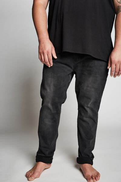 Bg Tapered Leg Jean, WORKER BLACK