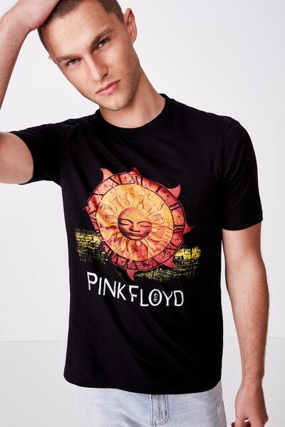 Tbar Collab Music T-Shirt, LCN PER SK8 BLACK/PINK FLOYD - BOKROM