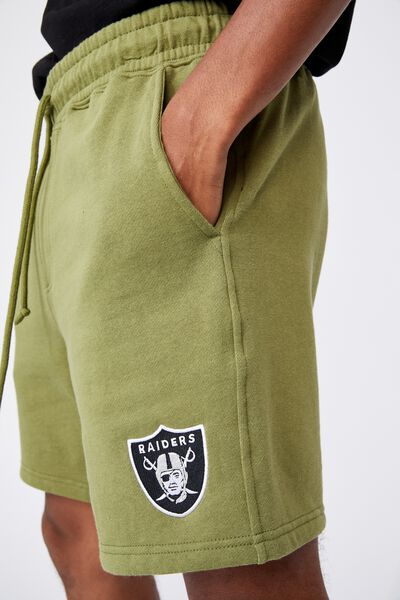 Active Nfl Fleece Short, LCN NFL GRASS GREEN/RAIDERS